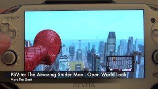 PSVita: The Amazing Spider Man - Open World Look