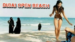 Dubai open Beach Jumeirah beach