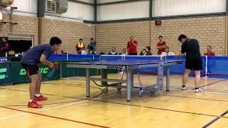 WindsorTTC 3rd place game: James Lu vs Tapabrata Dey