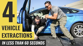 4 Vehicle Extractions in Under 60 Seconds