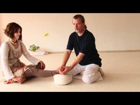 Fußreflexzonen Massage Interview und Vorführung mit Ausbildungsleiter Bhajan Noam