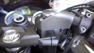 How To: Kawasaki Ninja ZX14R handlebar riser installation