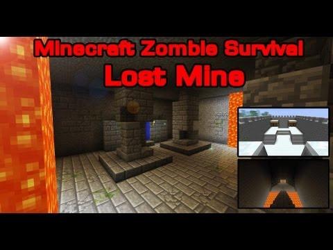 Minecraft Zombie Survival 2 Lost Mine