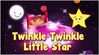 Twinkle Twinkle Little Star   Karaoke   Lyrical Poem   Cartoons Central