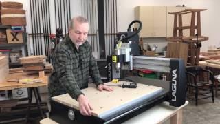 Digital Woodworking CNC Review: The Laguna IQ: Part One