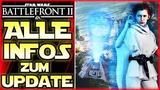 Neue Kashyyyk Map! Yoda & Maul blocken! Neuer Leia Skin! Anakin Nerf - Star Wars Battlefront 2