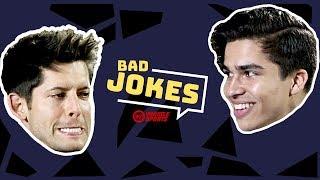 Alex Aiono vs. Hunter March   Bad Joke Telling