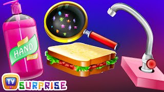 Surprise Eggs Nursery Rhymes Toys | Wash Your Hands | Good Habits For Children | ChuChu TV