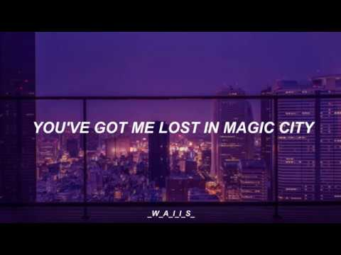 Gorillaz- Magic City (lyrics).