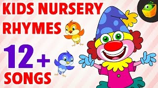 Kids Nursey Rhymes | 12+ Songs | Non-Stop Compilations | Magicbox Animation | Rhymes for Kids