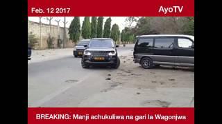BREAKING NEWS: Manji achukuliwa na gari la Wagonjwa