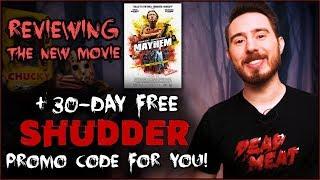 """Mayhem"" Review + 30-day Free Shudder Promo Code for YOU!"