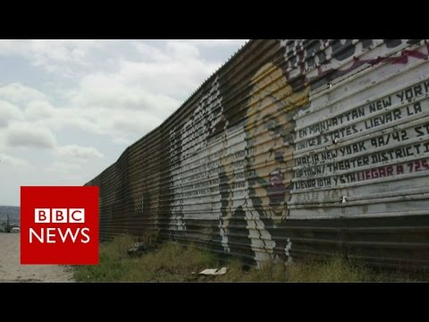 What Mexicans think of Trump s wall BBC News