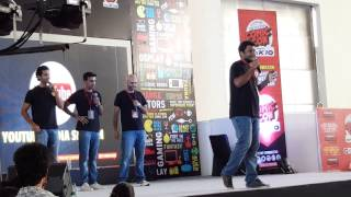 SNG Comedy Bollywood Gandu ComicCon Hyderabad 2015