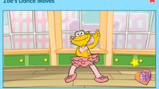 Sesame Street Games - Zoe's Dance Moves