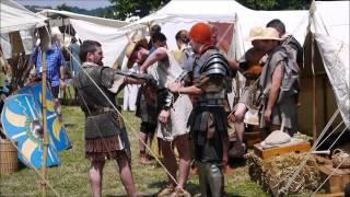 journées gallo romaine 2015   saint romain en gal   la guerre romaine