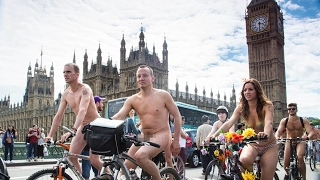 World Naked Bike Ride 2017 - London