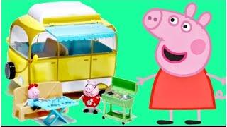 PEPPA PIG Camper & Van with Daddy, Mummy & George