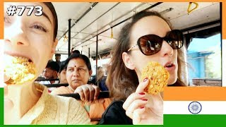 HER FIRST TIME HAVING INDIAN FOOD IN INDIA DAY 773 | TRAVEL VLOG IV