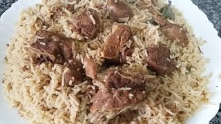 BEEF YAKHNI PULAO - Zahida Cooking