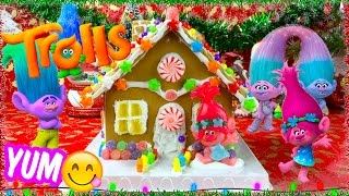 TROLLS Movie Poppy's Candy Gingerbread House