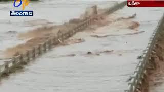 Heavy rain causes floods   Nagavali River overflows in Odisha's Rayagada district