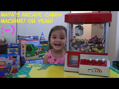 Xxx Mp4 Arcade Games Candy Arcade Machine Toy Unboxing Playtime W Maya Cool Toy 3gp Sex