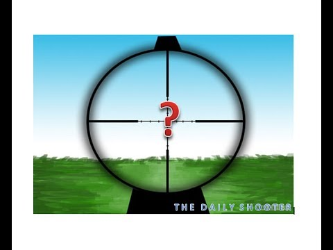 The basics Sighting in your gun scopes & sights adjustments
