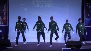 Malhari Urban Hip Hop Dance Performance -- Reactive Elements Crew