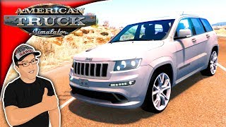 American Truck Simulator Mods Jeep Grand Cherokee SRT8 Mod Review
