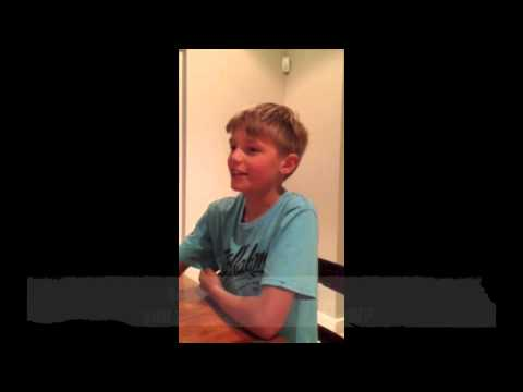 Interview with 10 year old boy on parenting