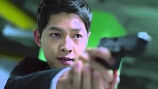 《太陽的後裔》 「 槍戰」    第14集    //宋仲基 宋慧喬