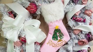 Home & Family's DIY Baby's First Christmas Crafts