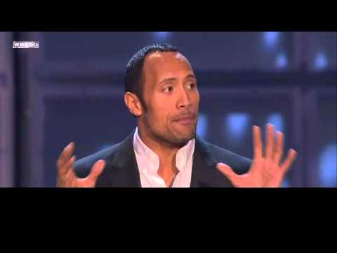 WWE Hall of Fame 2008: The Rock Part 1/2