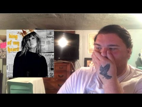 Taylor Swift - King Of My Heart | REACTION