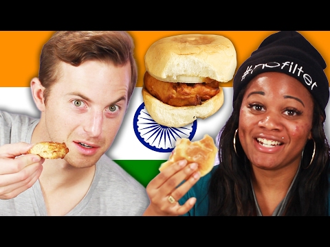 Xxx Mp4 People Try Indian Street Food 3gp Sex