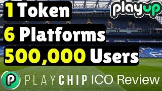 PLAYCHIP Review || Playup Global Offers ICO For User Base [giveaway concluded]