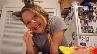 Kenna Hot Cheeto Challenge 🔥