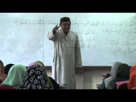Tausog: Pag-Parihala ha Bay sin Muslim, Hasupaya Maig in mga Shaytan ha Laum Bay...