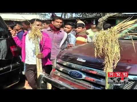 বগুড়ায় বিএনপি'র প্রার্থীর প্রচারণায় দুর্বৃত্তদের হামলা, আহত ১৪ | Bogra News Update | Somoy TV