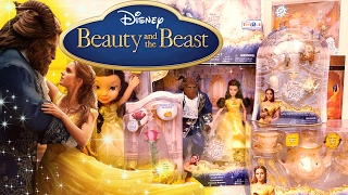 Beauty and the Beast Live Action Dolls and Toys with Belle, Gaston, Beast, Mrs. Potts, and More