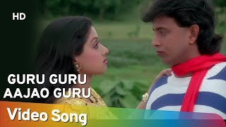 Guru Guru Aajao - Mithun - Srdevi - Waqt Ki Awaz - Bollywood Songs - Kishore Kumar - Asha Bhosle