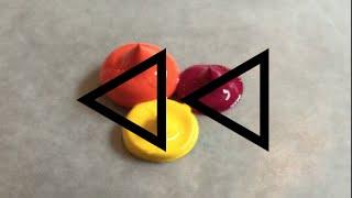 REVERSE Acrylic Paint Colour Mixing - #2 (RED ORANGE)