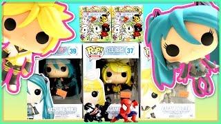 Funko Pop Vocaloid Miku, Rin & Len - Unicornos Series 3 - Spider-man