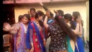 Garhwali wedding dance on  my brother marriage on 2016 bhagtu mama song