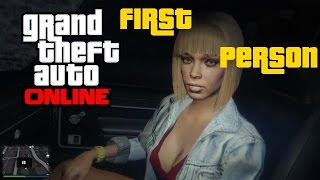 GTA 5 Online - PICKING UP A HOOKER IN FIRST PERSON!!! [UPDATED]