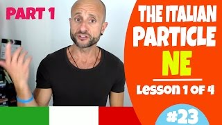 Learn Italian Phrases, Grammar and Culture Q&A - How to Use NE (Less. 1, Part 1) [Ask Manu Italiano]