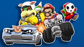 Mario Kart 8 Funny Moments W/ Friends - Mini Ladd Rage!
