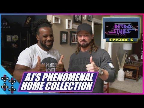 Xxx Mp4 AJ STYLES PHENOMENAL HOUSE OF RETRO VIDEO GAMES Retro Styles 6 3gp Sex