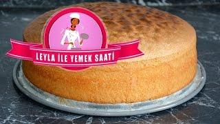 Pandispanya Tarifi - Biskuit Teig - Leyla ile Yemek Saati